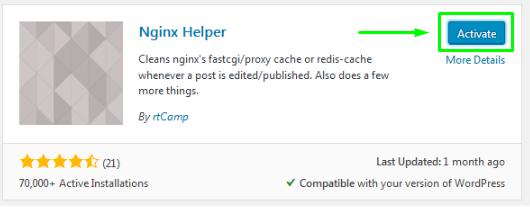 WordPress Plugins Activate