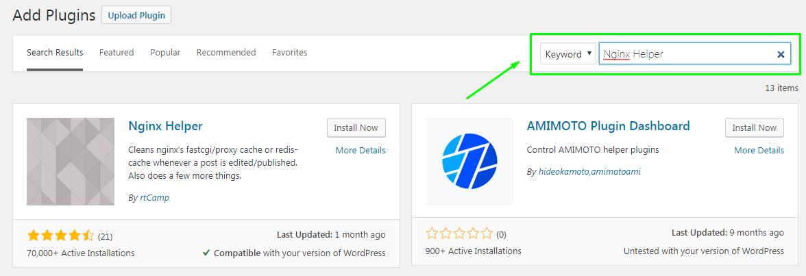 WordPress Plugins Search