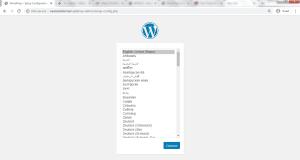 Manual WordPress Install