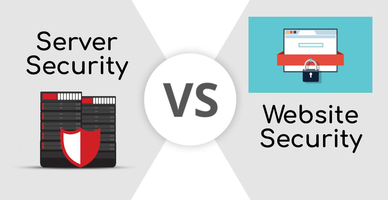 Server Security vs Website Security