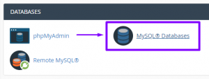 how to check and repair your databases in cpanel