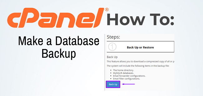 How to Make a Backup of Your Database in cPanel